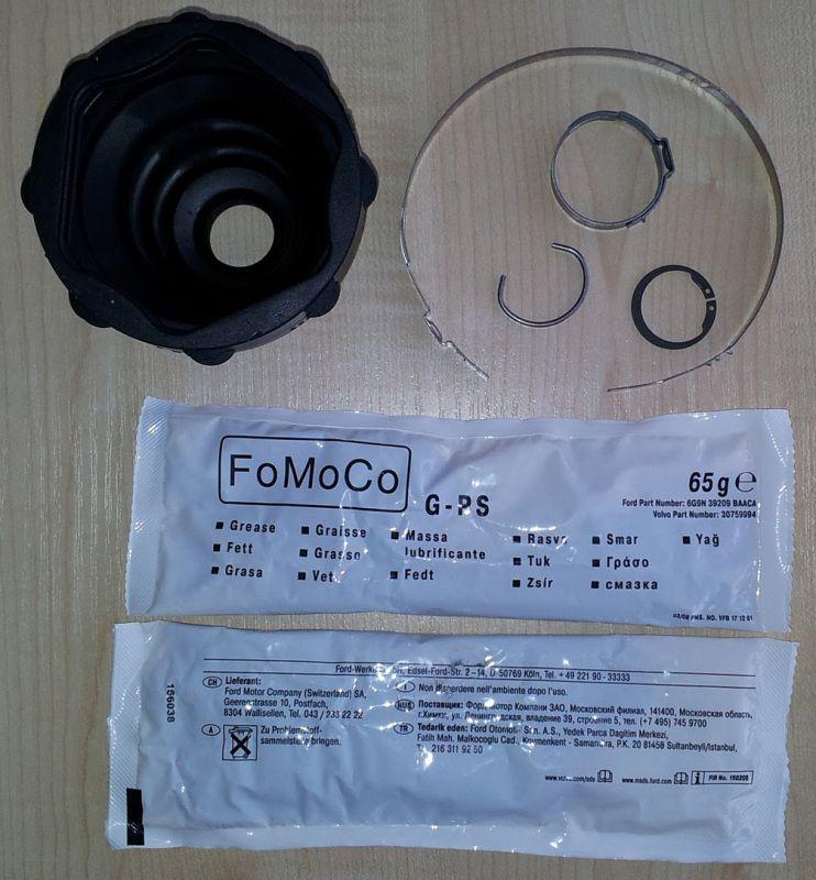 Как заменить внутренний шрус на форд мондео 3