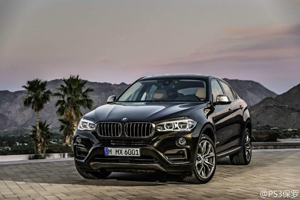Представлены первые официальные изображения BMW X6 нового поколения