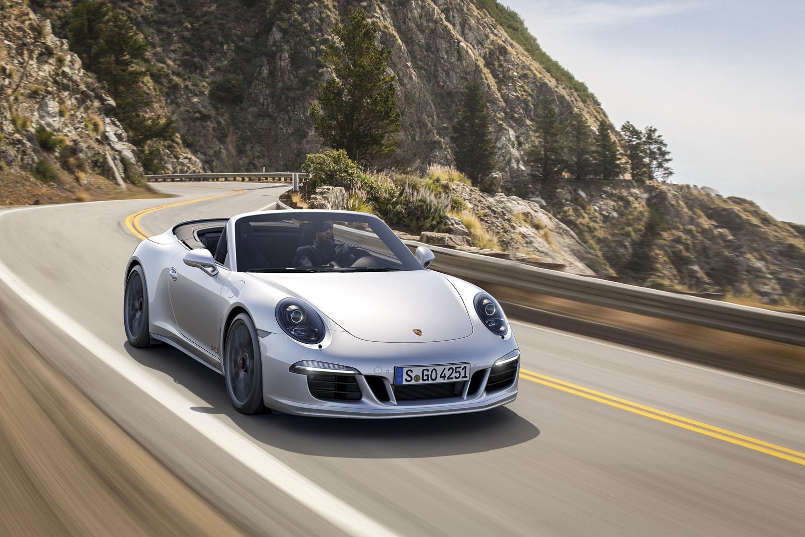 Porsche добавил мощности обновленному 911 GTS