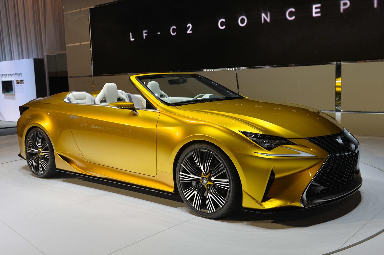 Lexus продемонстрировал LF-C2 — концепт нового кабриолета