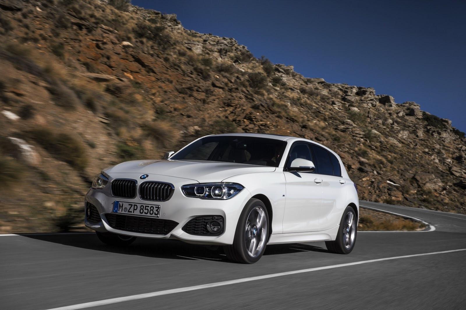 Обновленная BMW 1-Series получила трехцилиндровые двигатели