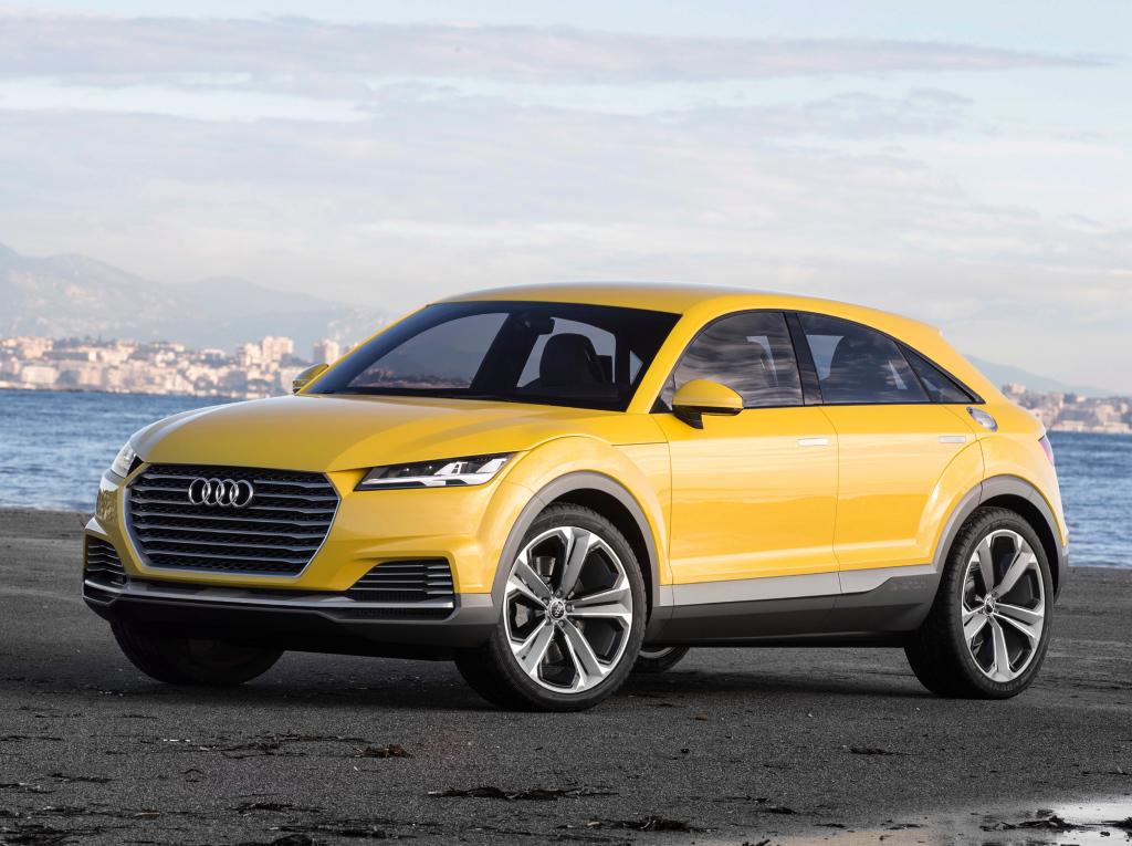 Спортивному кроссоверу Audi дадут название TTQ вместо Q4