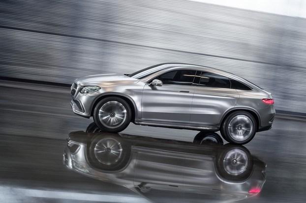 Mercedes-Benz рассекретил купе-кроссовер
