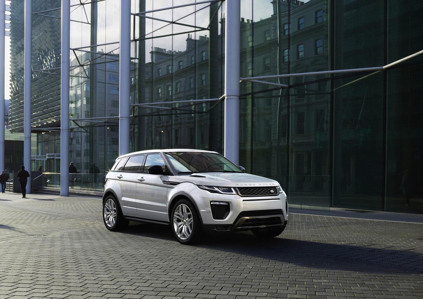 После обновления Range Rover Evoque стал самой экономичной моделью бренда