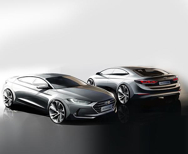 Опубликованы новые изображения Hyundai Elantra следующего поколения
