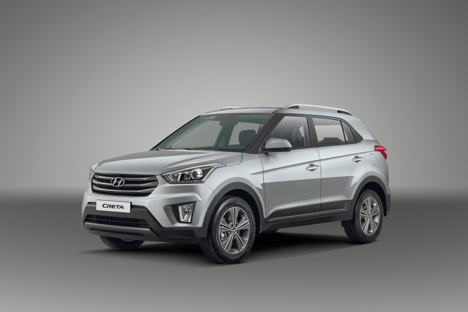 Российские цены на кроссовер Hyundai Creta: от 749 тысяч до 1,139 млн рублей