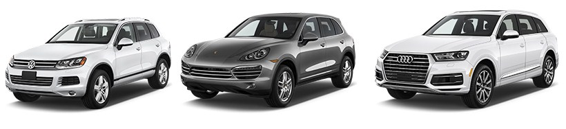 Спец. Акция, ТО на VW Touareg, Porsche Cayenne, Audi Q7 - 7490 руб!